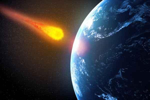 Carta da parati Asteroide