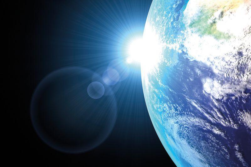 Carta da parati Earth