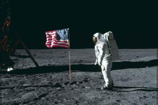 Carta da parati Sbarco sulla Luna